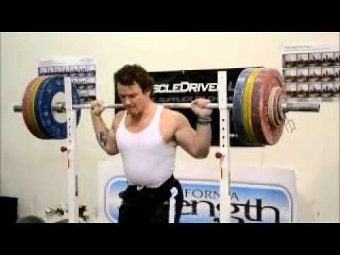 Donny Shankle push press 157kg (345.4 lbs) X 5 Image 1
