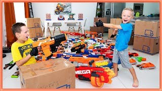 Nerf Blaster Arsenal Unboxing TROUBLE (part 1)