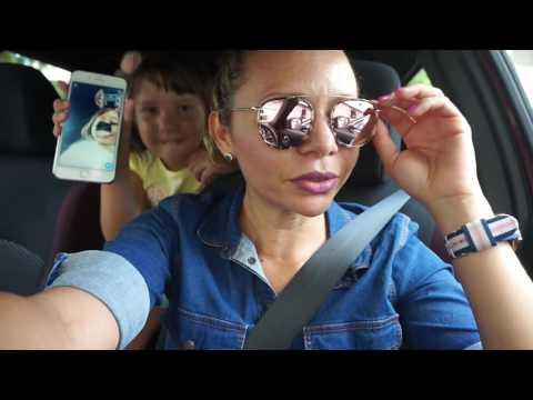 Vlog;Deixando a filha no cursinho,shopping,supermercado,biblioteca.E dirigindo..