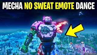 *NEW* GIANT ROBOT DOES NO SWEAT EMOTE MUST WATCH (FORTNITE BATTLE ROYALE)