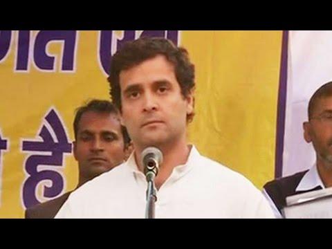 In Amethi village he adopted, Rahul Gandhi suggests it's pointless