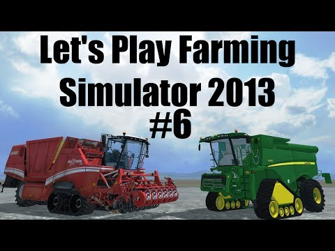 Farming Simulator 2013 S7E6 corn harvesting time