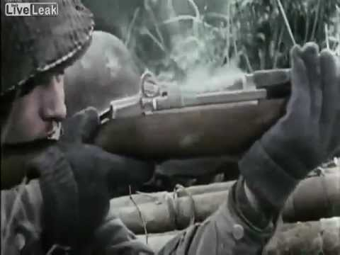 Amazing Real Combat Footage From WW2