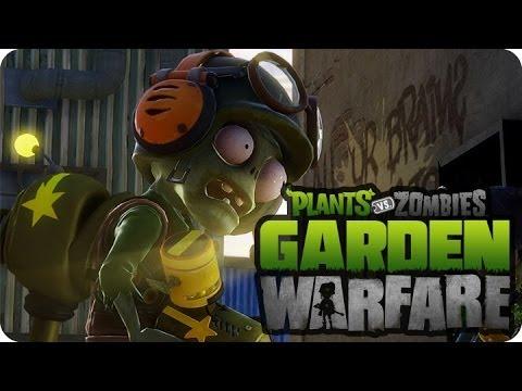 El Zombie Pintor Y Sus Amigos Plantas Vs Zombies Garden Warfare