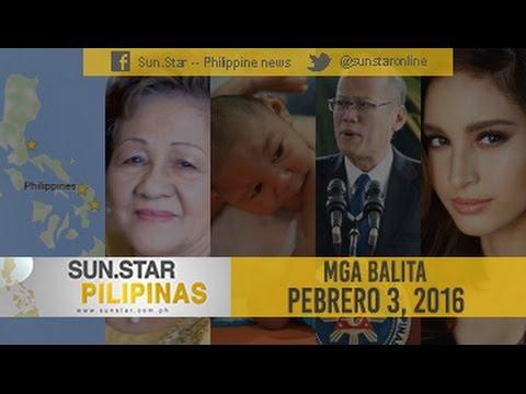 Sun.Star Pilipinas Febuary 3, 2016