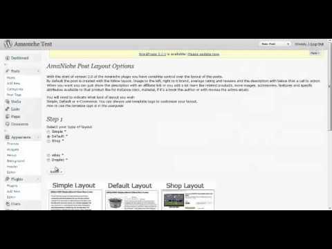 0 Amaniche 3.0 Wordpress Plugin