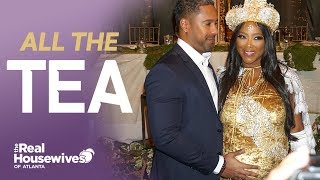 Inside Kenya Moore's Fairytale Baby Shower #RHOA
