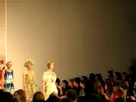 Eley Kishimoto London Fashion Week SS09