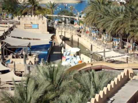 Wild Wadi Water Park and Burj Al Arab, Dubai