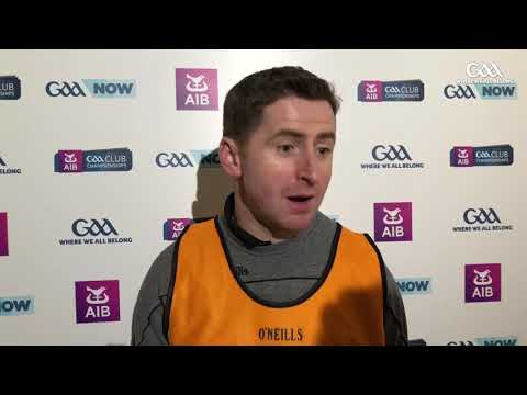 Kilcoo coach Conleith Gilligan talks to GAA.ie