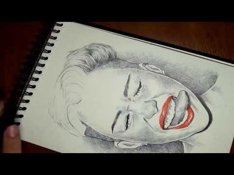Dibujando a Miley Cyrus Drawing Miley Cyrus