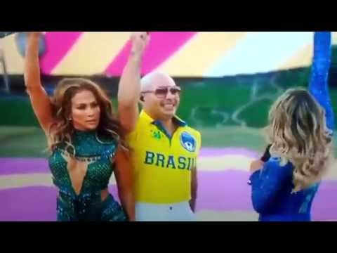 WM Ceremony Pitbull J.LO - We are one