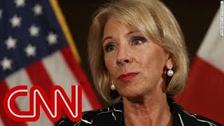 DeVos struggles to answer questions about schools in home state