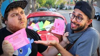The Annoying Flyer Guy | Anwar Jibawi