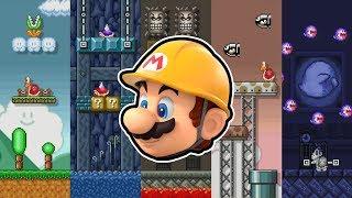Complete Super Mario All-Stars Level Theme Mod for Super Mario Maker! (SMB1 / Lost Levels)