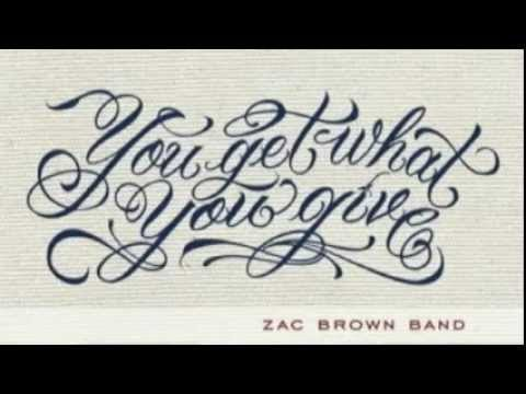 Zac Brown Band - Whiskeys Gone