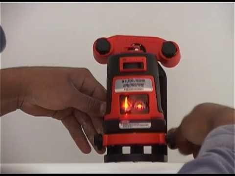 Black & Decker Laser