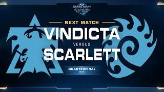Scarlett vs Vindicta ZvT - Quarterfinals - WCS Challenger NA Season 2