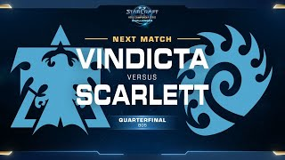 Scarlett vs Vindicta ZvT - Quarterfinal - WCS Challenger NA Season 2