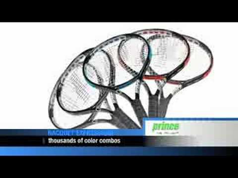 Prince Tennis Racquet Customization