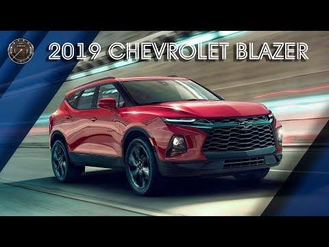 Новый Шевроле Блейзер 2019 Года | ОБЗОР 2019 Chevrolet Blazer