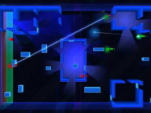 Frozen Synapse: Grim... (green) vs trooper (red) - Charge