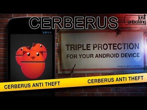 Cerberus - La mejor aplicación anti-robo de Android   Aplicaciones Android   Just Unboxing