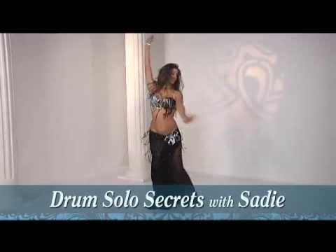 Sadie Belly Dance: New DVD Drum Solo Secrets!