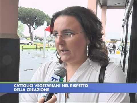 Servizio del TG ttn24 su Associazione Cattolici Vegetariani
