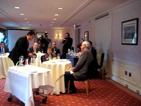 Best Sommelier in America Competition 2009 Decanting