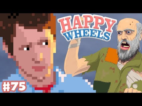 Happy Wheels - Part 75 - Cowboys Vs Aliens video