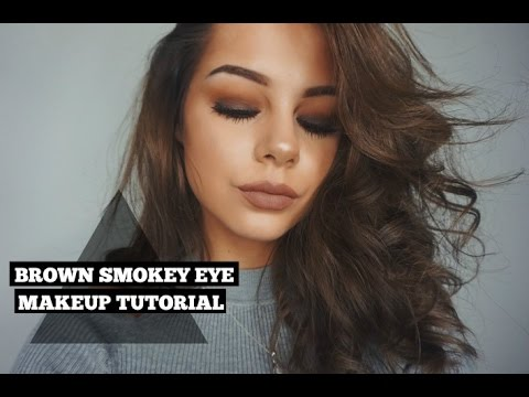 Brown Smokey Eye   All Drugstore Makeup With New Products