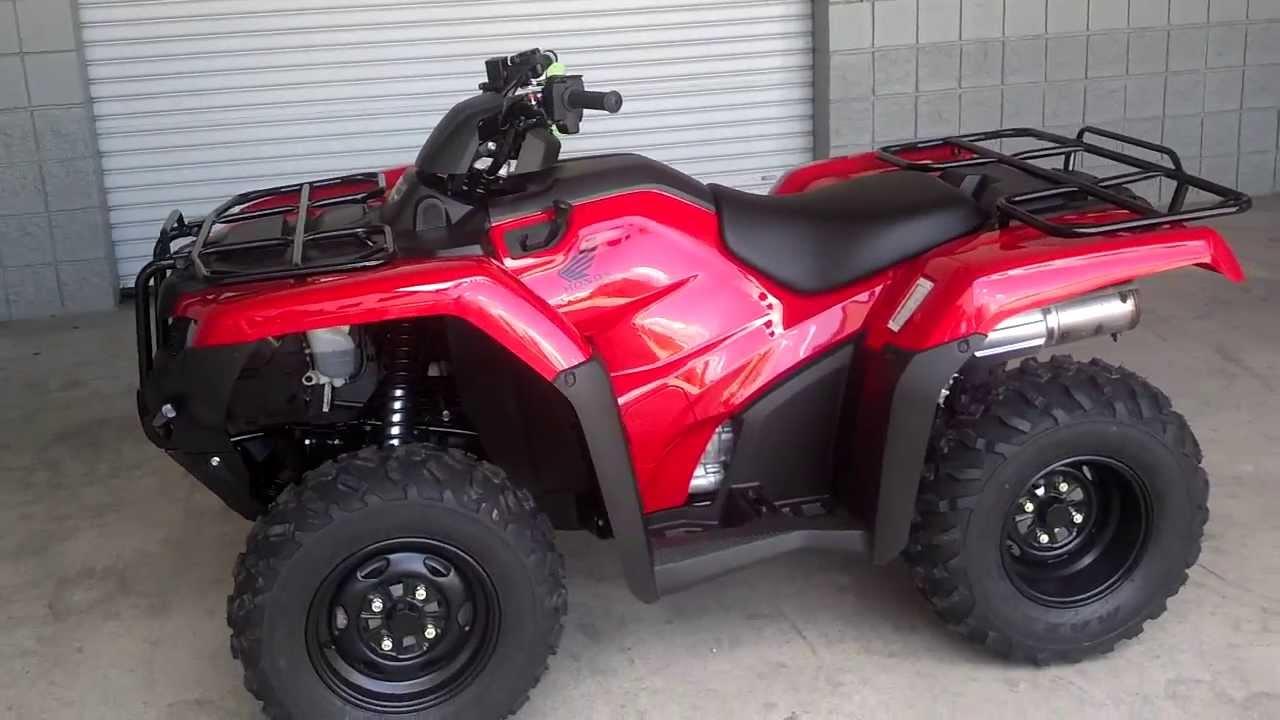 2014 Rancher ES 420 SALE / Honda of Chattanooga TN // 2014 TRX420FE1E Rancher 4x4 ATV - YouTube