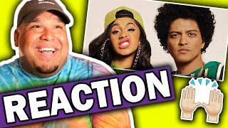 Download Lagu Bruno Mars ft. Cardi B - Finesse (Remix) Music Video [REACTION] Gratis STAFABAND