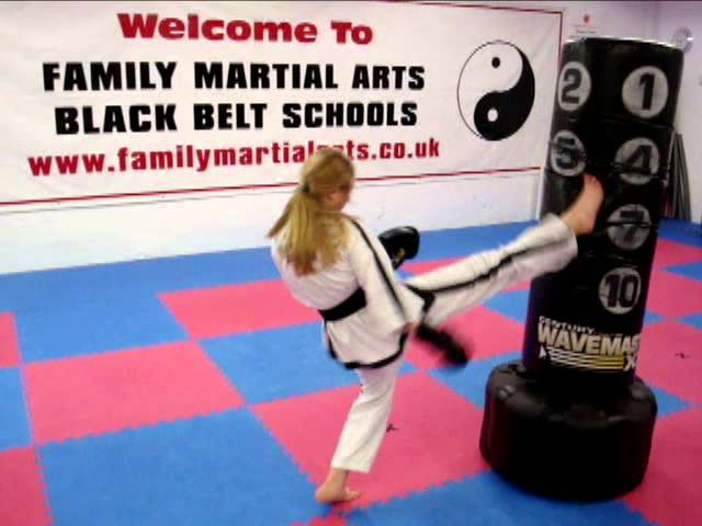 Girls can punch and kick hard  too!! - Family Martial Arts in Maidstone and Gravesend