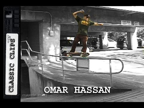 Omar Hassan Skateboarding Classic Clips #217