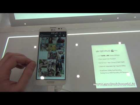 LG Optimus G Pro. anteprima in italiano by AndroidWorld.it