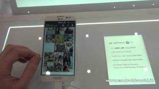 LG Optimus G Pro, anteprima in italiano by AndroidWorld.it