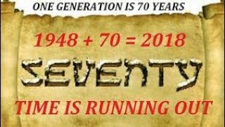 BIGGEST RAPTURE ALERT IN HISTORY! 2018 Ends 70 Year Generation That Lives 2C Rapture! WE FLY SOON!