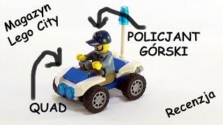 Magazyn Lego City - Policjant górski na quadzie - 1 / 2018 - Recenzja