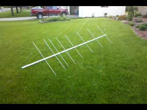2011 circular polarized VHF satellite yagi