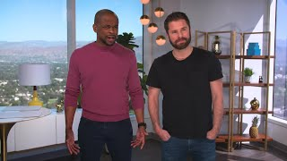"""Psych"" stars Dulé Hill & James Roday on tonight's WWE Draft"