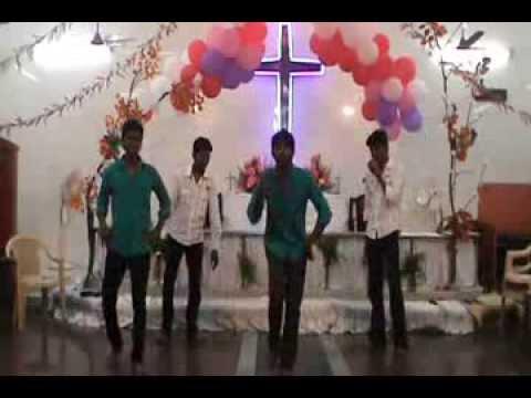 Tamil Christian Dance For Kiruba Kiruba Song By Eci Mgr Nagar Youth video