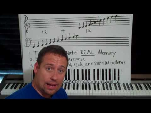 PIANO LESSONS - Why All Cows Eat Grass Doesn't Work!