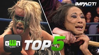 5 Most EXTREME Knockouts Street Fights in IMPACT Wrestling History | GWN Top 5