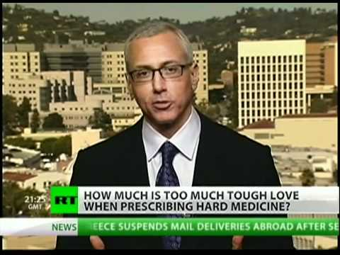 Celebrity Rehab's Dr. Drew talks addiction