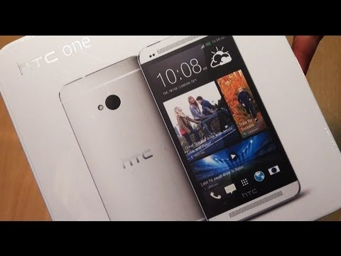HTC ONE Unboxing!