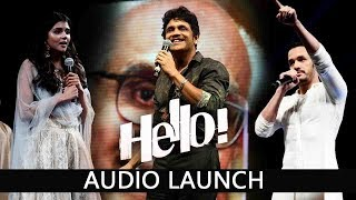 HELLO Audio Launch Highlights |  Akhil, Nagarjuna, Amala, Kalyani, Vikram Kumar , Anup Rubens.