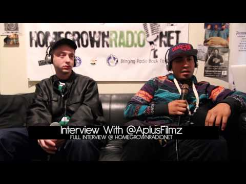 Aplus Filmz | Home Grown Radio Interview