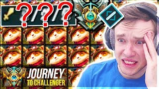 SO I PICKED TEEMO MID IN MASTERS ELO............ - Journey To Challenger | League of Legends